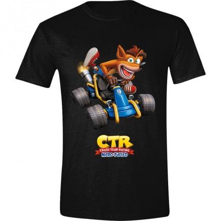 Tričko Crash Team Racing - Crash Car (velikost XL)