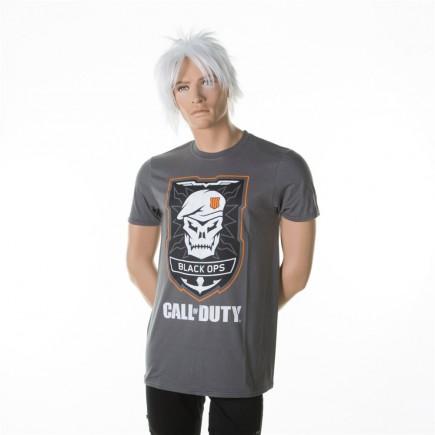 Tričko Call of Duty: Black Ops 4 - Skull Logo (velikost L)