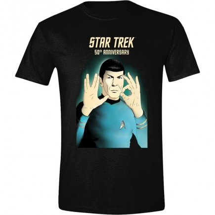 Tričko Star Trek - 50th Anniversary (velikost L)
