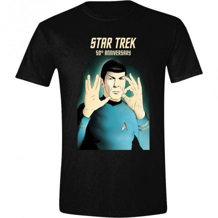 Tričko Star Trek - 50th Anniversary (velikost S)