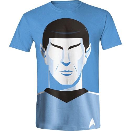 Tričko Star Trek - Vector Spock (velikost L)