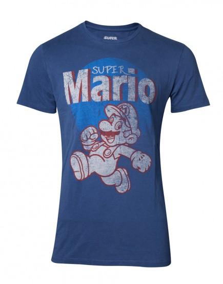Tričko Super Mario - Super Mario Running Vintage (velikost XXL)
