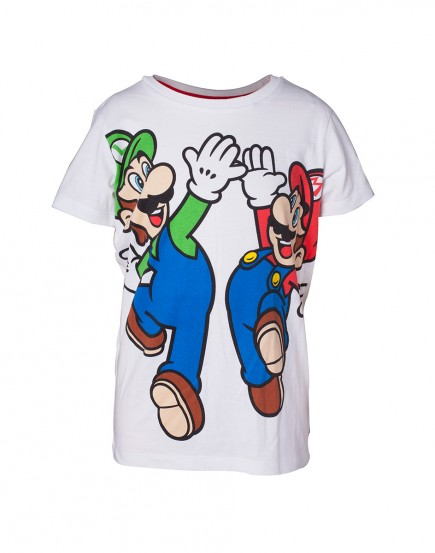 Tričko dětské Super Mario - Mario and Luigi (velikost 158/164)