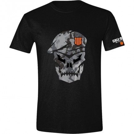 Tričko Call of Duty: Black Ops 4 - Skull with Cammo (velikost XL)