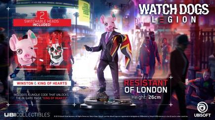 Figurka Watch Dogs Legion - Resistant of London