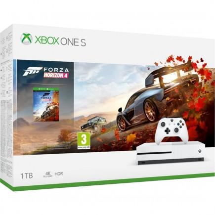 Konzole Xbox One S 1TB + Forza Horizon 4 (XONE)