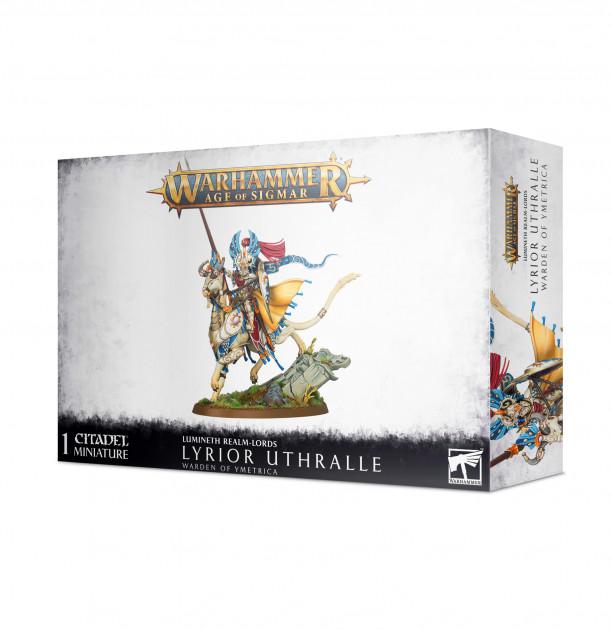 W-AOS: Lumineth Realm Lords Lyrior Uthralle (1 figurka)