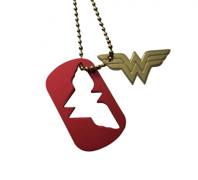 Přívěšek DC Comics - Wonder Woman Logo Dog Tag