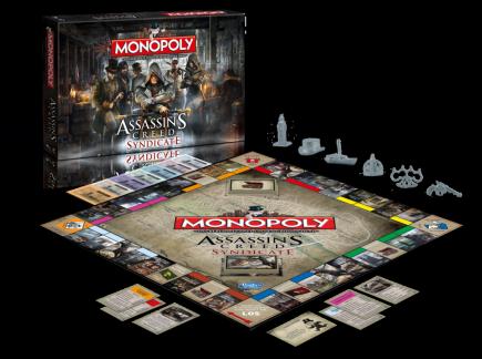 Desková hra Monopoly Assassins Creed: Syndicate