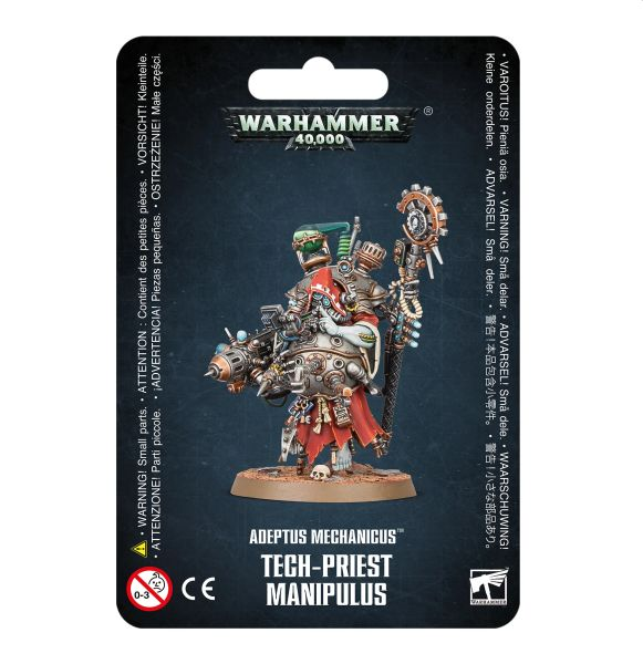 W40k: Adeptus Mechanicus - Tech-Priest Manipulus (1 figurka)