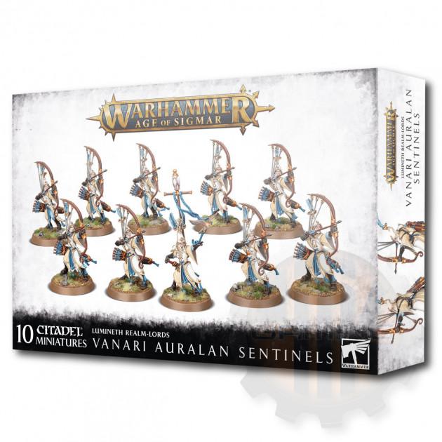W-AOS: Lumineth Realm Lords Vanari Auralan Sentinels (10 figurek)