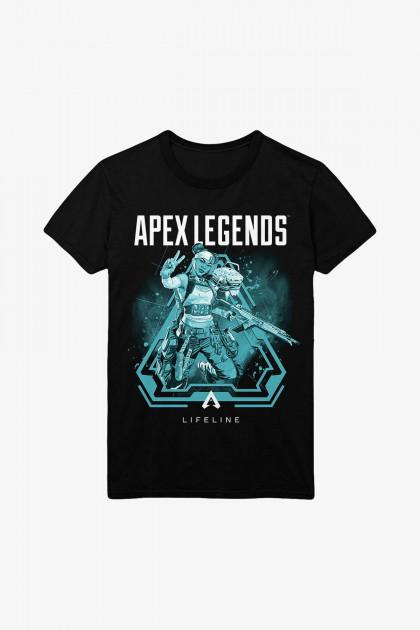 Tričko Apex Legends - Lifeline (velikost XXL)