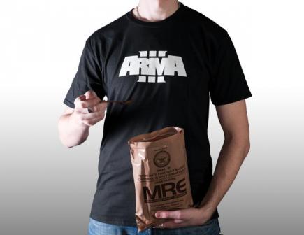 Tričko ArmA III - Logo (velikost XXL)