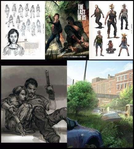 Kniha The Art of The Last of Us