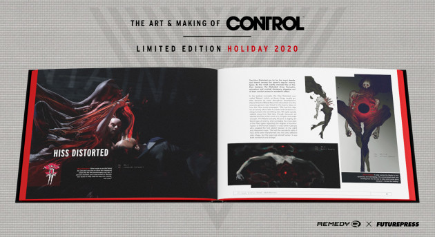 Kniha The Art and Making of Control - Limited Edition