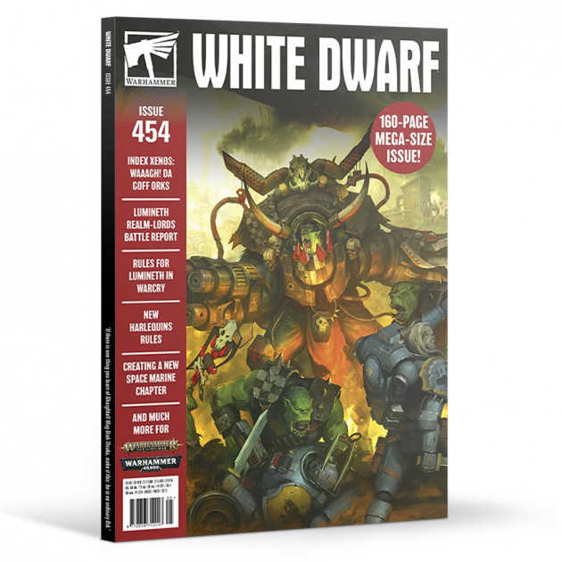 Časopis White Dwarf 2020/05 (Issue 454)