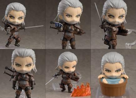 Figurka Zaklínač - Geralt z Rivie (Nendoroid)