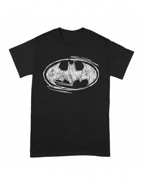 Tričko Batman - Sketch Logo (velikost XL)