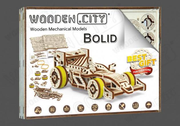 Stavebnice - Formule Bolid (dřevěná)