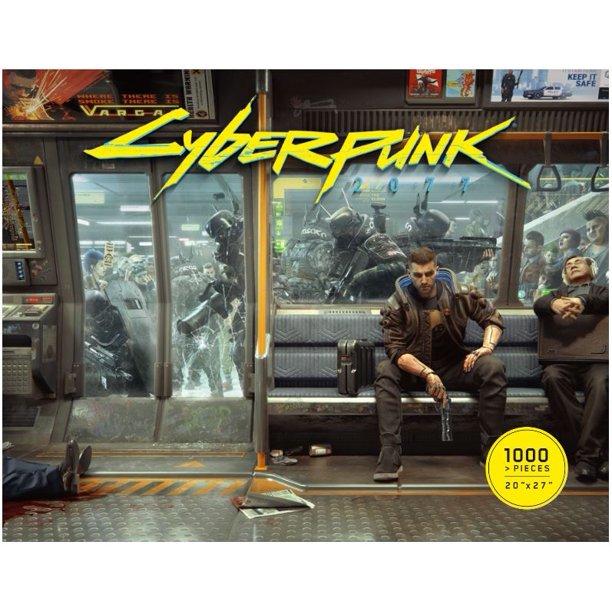 Puzzle Cyberpunk 2077 - Metro Life