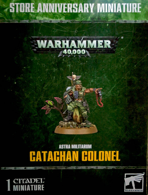 W40k: Astra Militarum - Catachan Colonel (limited edition)
