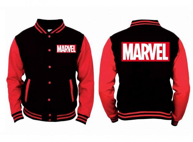 Mikina Marvel - College Jacket (velikost XL)