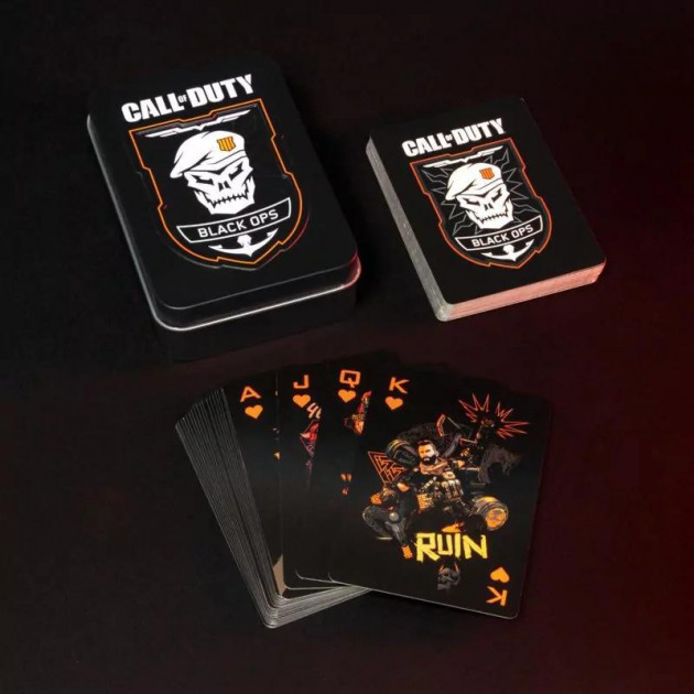 Hrací karty Call of Duty: Black Ops 4