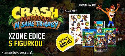 Crash Bandicoot N.Sane Trilogy - Xzone edice