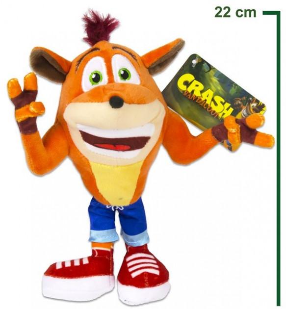 Plyšák Crash Bandicoot (22 cm)
