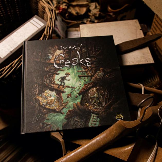 Kniha The Art of Creaks CZ