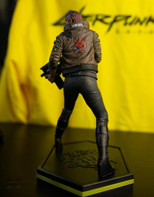 figurka cyberpunk