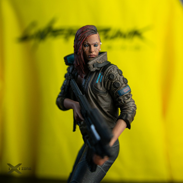 cyberpunk figurka