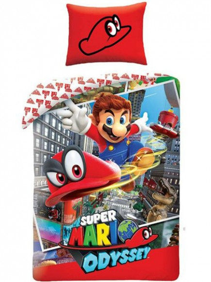 Povlečení Super Mario - Super Mario Odyssey
