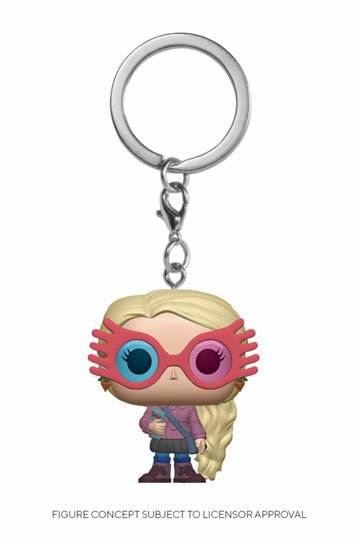 Klíčenka Harry Potter - Luna Lovegood (Funko)