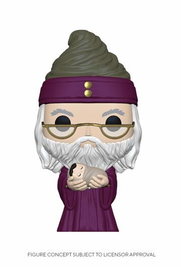 Figurka Harry Potter - Dumbledore With Baby Harry (Funko POP! Movies 115)