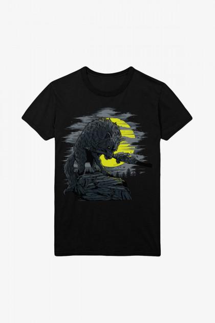 Tričko Dark Souls - Great Grey Wolf (velikost M)