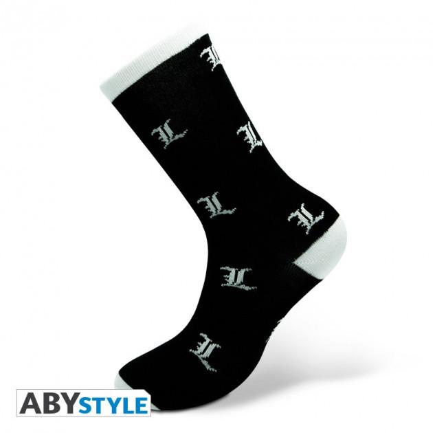 Ponožky Death Note - BlackandWhite