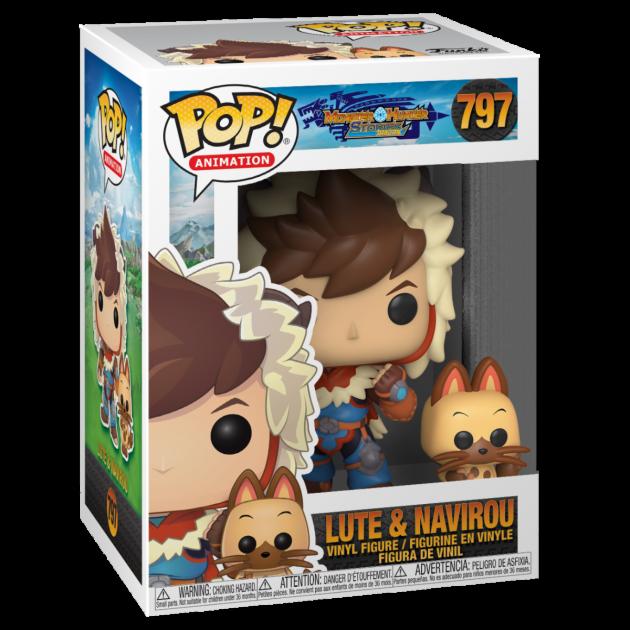 Figurka Monster Hunter Stories - Lute and Navirou (Funko POP! Animation 797)