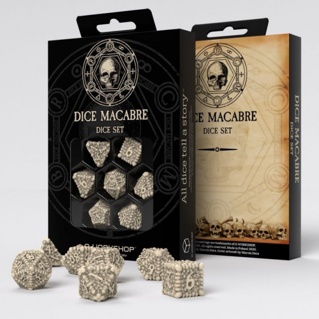 Kostky Macabre Set