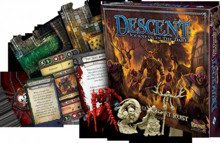 Desková hra Descent: The Chains That Rust - EN (rozšíření)