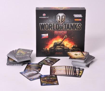 Desková hra World of Tanks: Rush