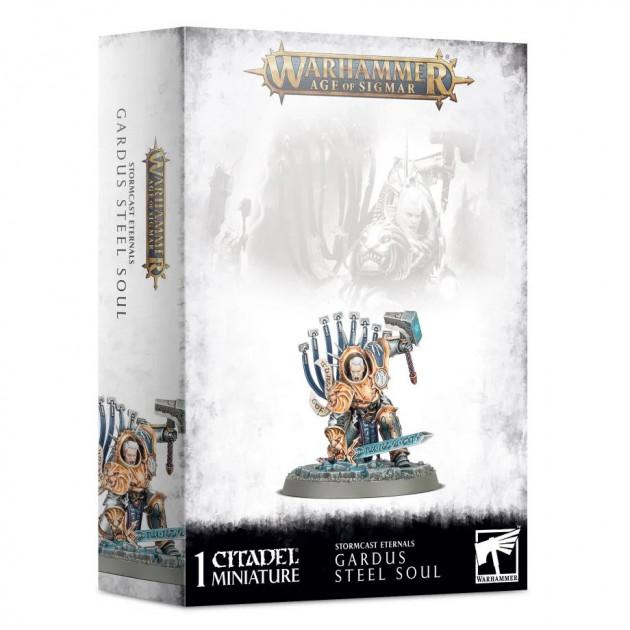 W-AOS: Stormcast Eternals - Gardus Steel Soul (1 figurka)