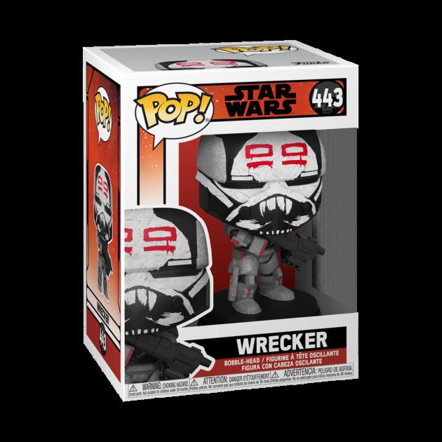 Figurka Star Wars: The Bad Batch - Wrecker (Funko POP! Star Wars 443)