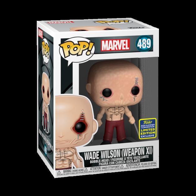 Figurka X-Men - Wade (Funko POP! Marvel 489)