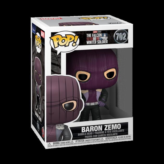 Figurka The Falcon and The Winter Soldier - Baron Zemo (Funko POP! Marvel 702)