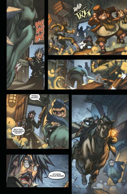 Komiks World of Warcraft: Kletba worgenů