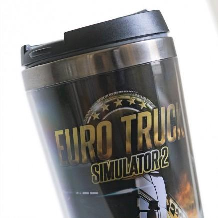 Cestovní hrnek Euro Truck Simulator - Art