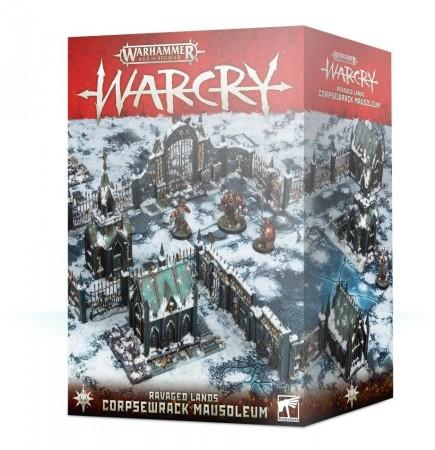 Warhammer Age of Sigmar: Warcry - Ravaged Lands Corpsewrack Mausoleum (terén)