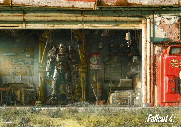 Puzzle Fallout 4 - Garage (Good Loot)