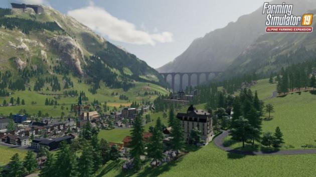 alpské rozšíření farming simulator